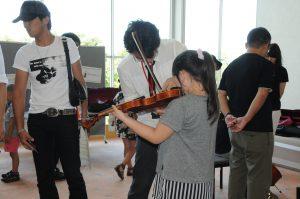 わくわく楽しい音楽会(楽器体験)